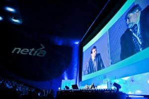 8.10.2009 Warszawa , Multikino Zlote Tarasy. Konferencja BIZNES TO ROZMOWY organizowana przez NETIA.  fot. Rafal Siderski www.rafalsiderski.com